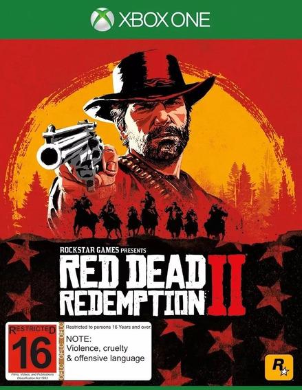 Red Dead Redemption 2 - Código 25 Dígitos - Xbox One