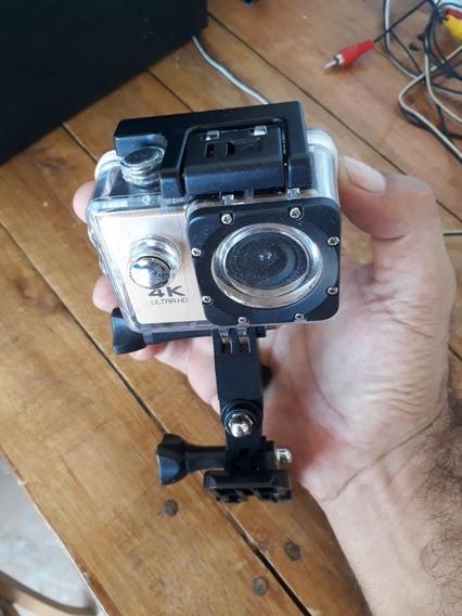 Câmera 4k Estilo Gopro A Prova D