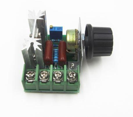 Regulador De Tensão Ac De 50v A 220v Potencia Max 2000watt