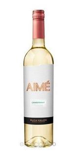 Vino Aimé Chardonnay 750ml. - Envíos