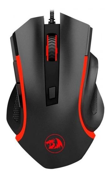 Mouse Gamer Redragon M606 Nothosaur Pixart 3200 Dpi 6 Botões