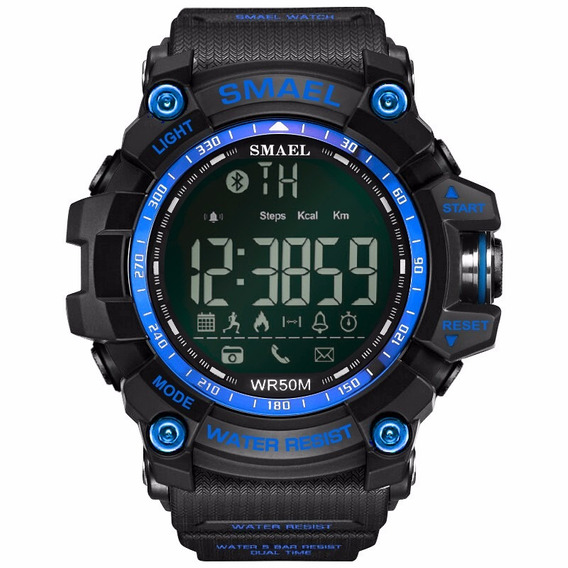 Reloj Pulsera Inteligente Deportivo Smael Promoción Gran Ve