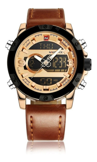 Relógio Naviforce Nf9097 Digital Analógico Prova D
