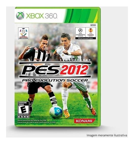 Pes Pro Evolution Soccer 2012 - Novo, Original Para Xbox 360