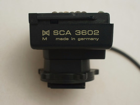 Sapata Adapter Sca 3602 M4 Sony Flash Metz Sca3002 & 3000