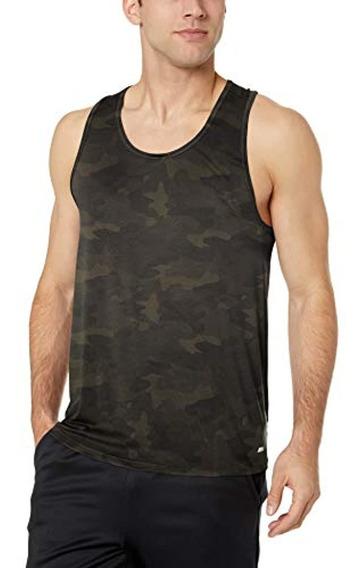 Essentials Men S Tech Stretch Performance Tank Top Shirt