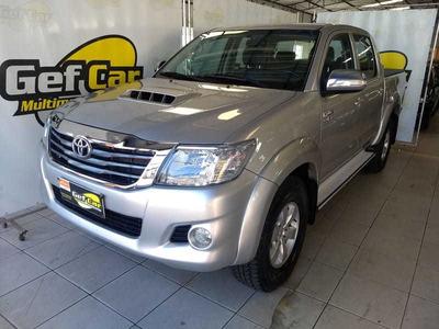 Toyota Hilux Cd 4x4 Srv 2012