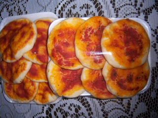 Pizzetas Caseras X 6 Unidades ¡¡excelente Calidad!!.
