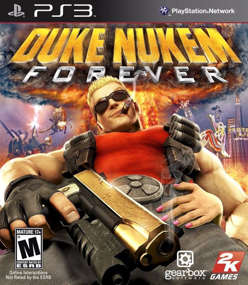 Jogo Duke Nukem Forever Playstation 3 Ps3 Pronta Entrega Dkn