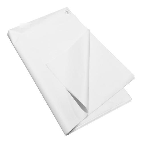 Imagen 1 de 5 de Papel Seda Blanco Pack X 20 Hjs De 50 X 70 Cms. Papel Cometa
