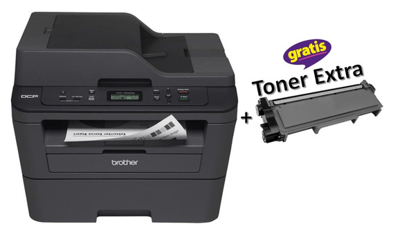Multifuncional Laser Mono Brother Dcp-l2540dw + Toner Extra