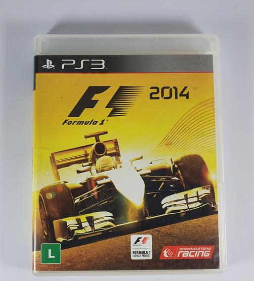 F1 2014 Fórmula 1 2014 Ps3 Original Midia Fisica Excelente