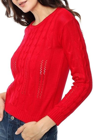 Sweaters Mujer Ultima Moda Chelsea Market Liviana Elastizado