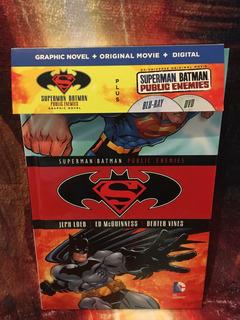 Dc Comics Blu Ray-dvd Comic Incluido Varios