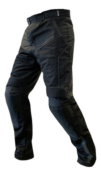 Pantalon Moto Hombre Cordura Nine To One City Protecciones