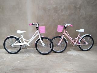 Bicicleta De Niña R20