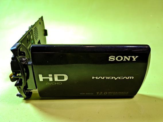 Lcd Touch Screen Da Sony Hdr-xr550 (acoplado Carcaça)