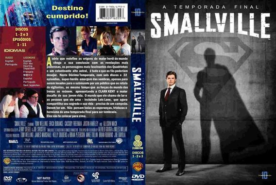 Temporada Completa Smallville 1° A 10° Temporada