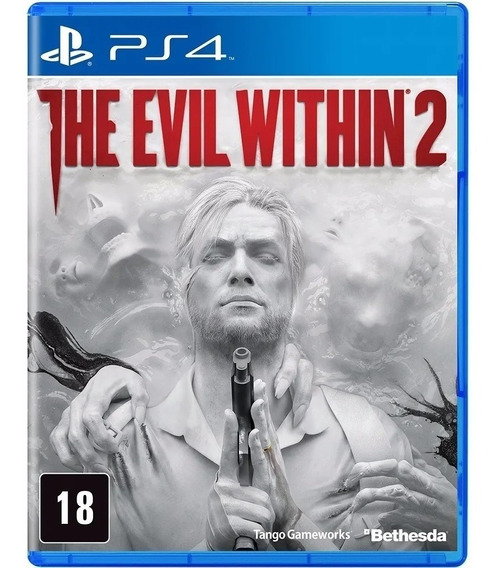 The Evil Within 2 - Ps4 - Mídia Física (lacrado)