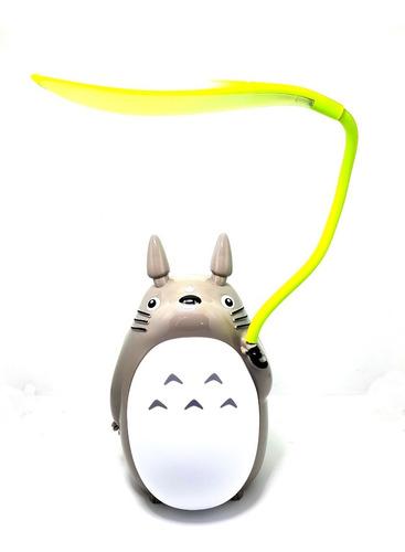 Lampara De Mesa Led Totoro Recargable Usb Luz Noche