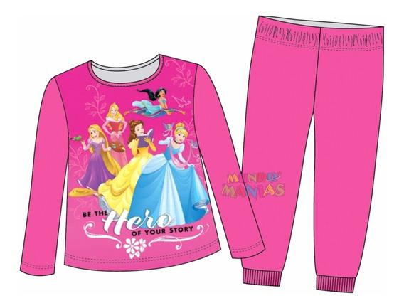 Pijama Manga Larga Disney Princesas Rapunzel Mundo Manias