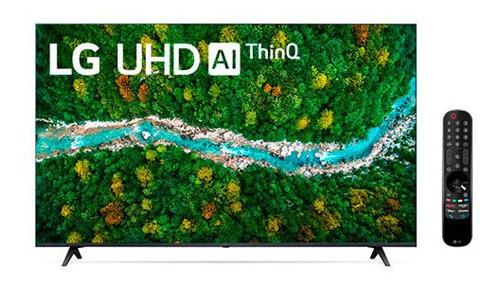 Imagem 1 de 9 de Smart Tv LG Led 4k Uhd 65  Inteligência Alexa- 65up7750psb