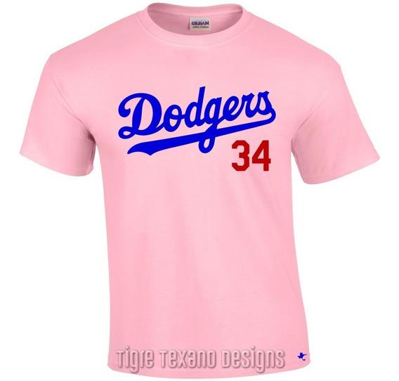 Playera Dodgers De Los Angeles Mlb 1 By Tigre Texano Designs