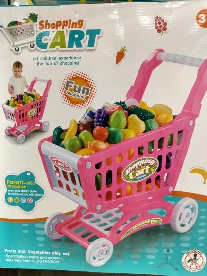 Carrito De Compras Para Niños Y Niñas