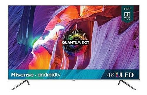 Imagen 1 de 6 de Smart Tv Hisense De 55 Pulgadas Class H8 Quantum Series Andr