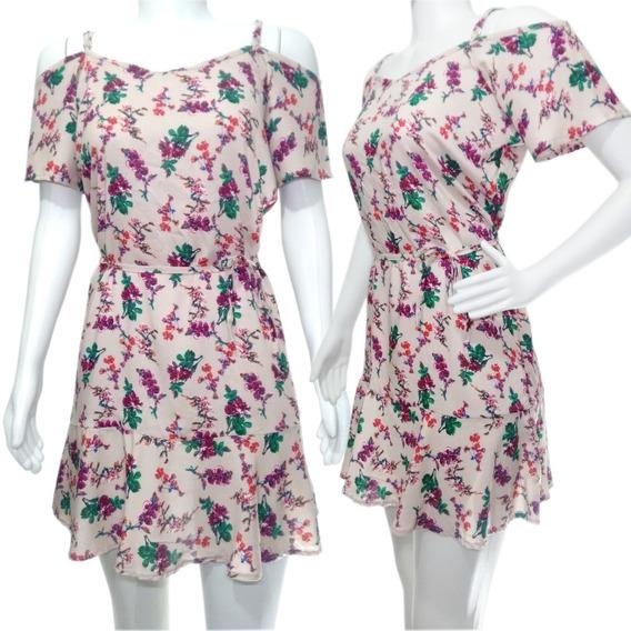 Vestido Florido Estampado Curto Ciganinha- Diversas Cores!