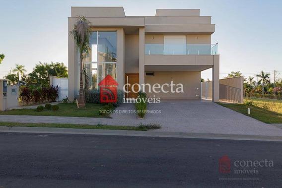 Casa Com 3 Dormitórios À Venda, 363 M² Por R$ 1.850.000,00 - Residencial Villa Bella Florença - Paulínia/sp - Ca1067