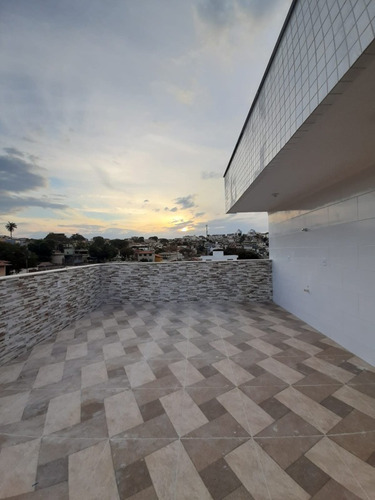 Imagem 1 de 15 de Cobertura Duplex À Venda, 2 Quartos, 1 Vaga, Santa Mônica - Belo Horizonte/mg - 2021