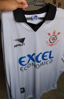 Camisa Corinthians Goleiro Excel Retrô