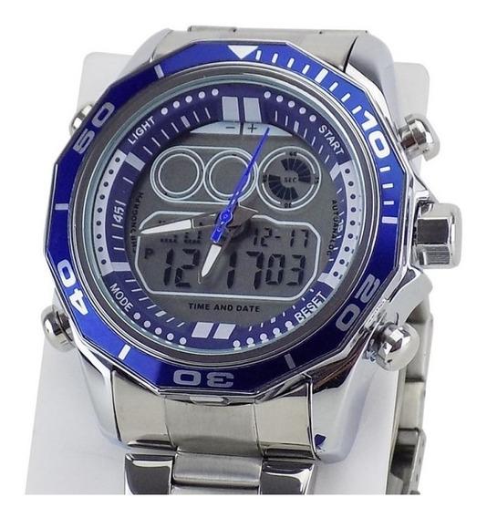 Relógio Original Masculino Digital & Analógico + Garantia