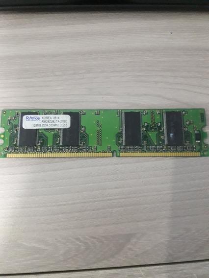 Memoria Ram Desktop 128mb Ddr 333mhz