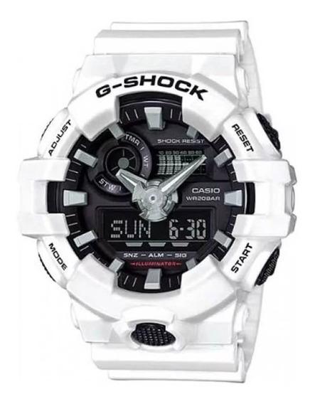 Relógio Casio Masculino G-shock Anadigi Ga-700-7adr