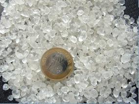 Pedras Cristal De Quartzo Rolado Pequeno 200gr