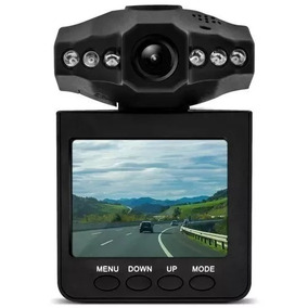 Camera Filmadora Visão Noturna Dvr Lcd 2.7 Carro Hd Veicular