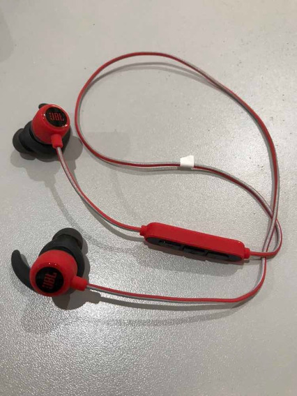 Fone De Ouvido Jbl Reflect Mini 2 Bluetooth In-ear Red Novo