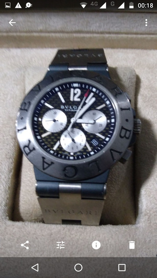 Relógio Bulgari Titânio