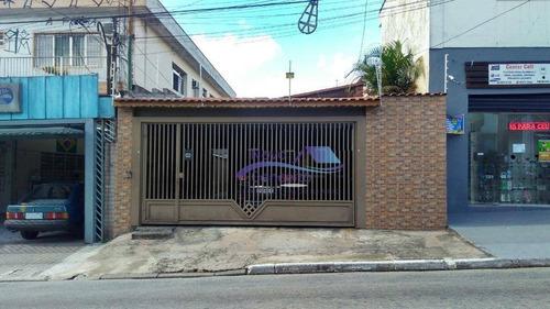 Casa Com 2 Dormitórios À Venda, 200 M² Por R$ 650.000,00 - Vila Antonieta - São Paulo/sp - Ca0070