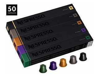 Paquete De Variedades Nespresso Para Originalline, 50 Cápsul