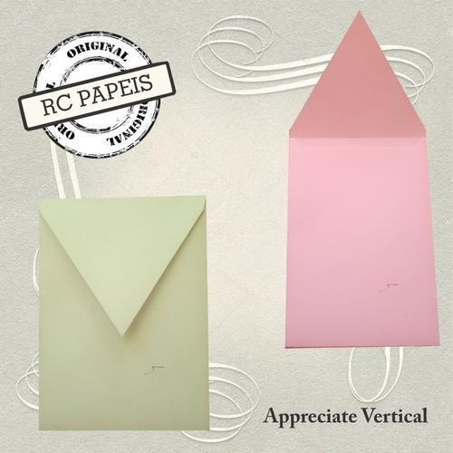 Imagem 1 de 2 de 50  Envelopes Para Convites Appreciate Vertical 15 X 21 Cm.
