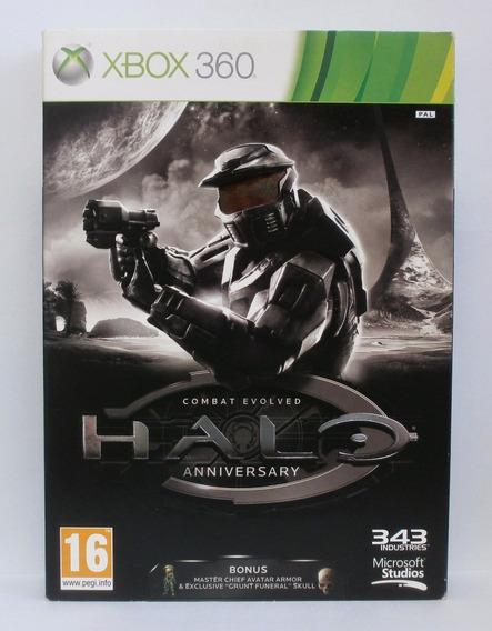 Halo Combat Evolved Anniversary Xbox 360 Usado Midia Fisica