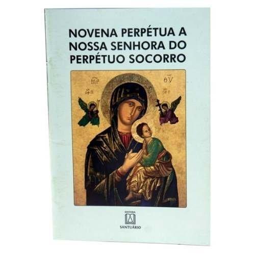 Livro Da Novena Nossa Senhora Do Perpetuo Socorro