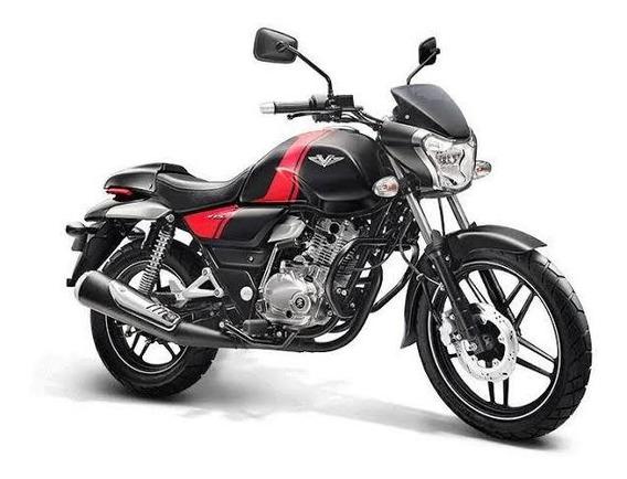 Motocicleta Bajaj V15 Negra