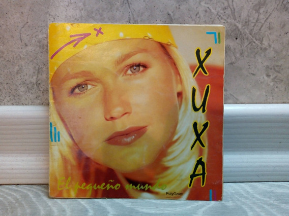 Xuxa El Pequeño Mundo Em Espanhol Cd Industria Argentina