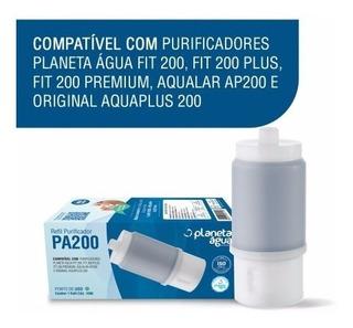 Refil Torneira Com Filtro Purificador Fit Premium 200