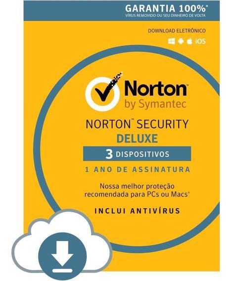 Antivirus Norton Security Plus 3 Usuarios 12 Meses