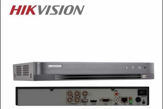 Dvr 4ch Hikvision Full Hd 1080p Turbo Hd 5em1 Ds-7204hqhi-k1